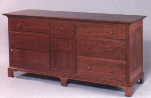 dresser new bedford solid oak or cherry
