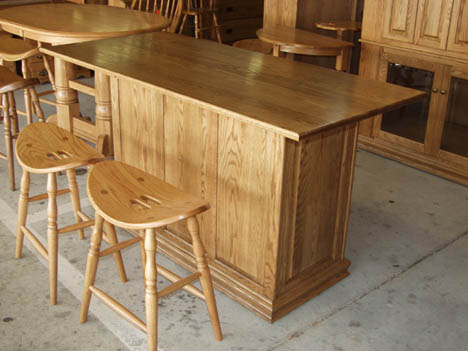 amish made solid oak kitchen island with storage solid oak amish made raised panel kitchen island or bar on wheels      rh   claybornesamishfurniture com