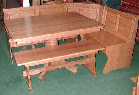 amish corner nook a breakfast nook of solid oak amish corner breakfast nooks